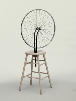 Marcel Duchamp, «Bicycle Wheel», 1951 (etter tapt original fra 1913) / Foto: Wikipedia